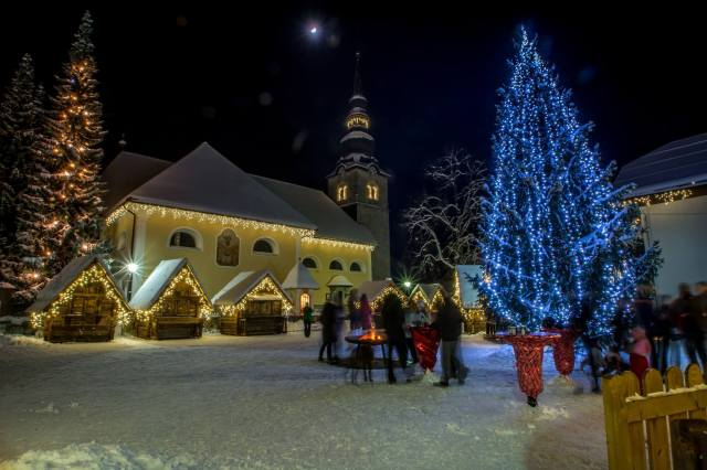 Alpine village Kranjska Gora