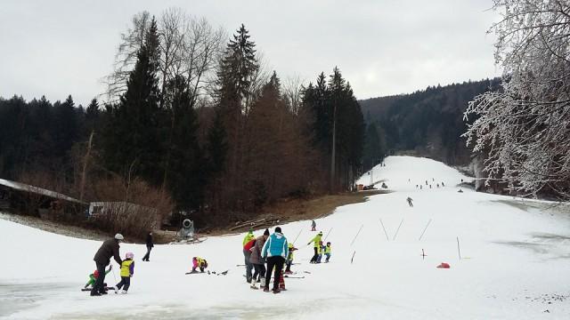 Kamna Gorica skiing