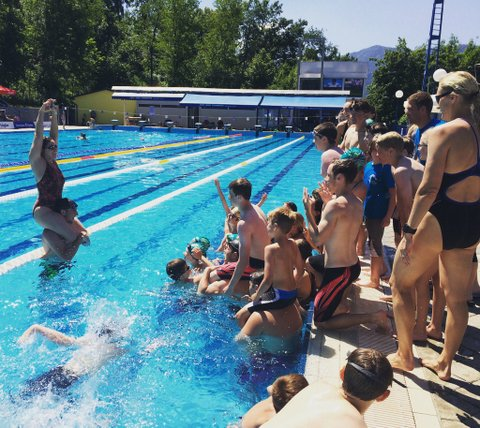 Slovenia Swim Camp 2016 - Radovljica