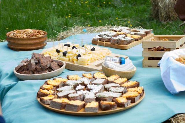 gozdni selfness piknik